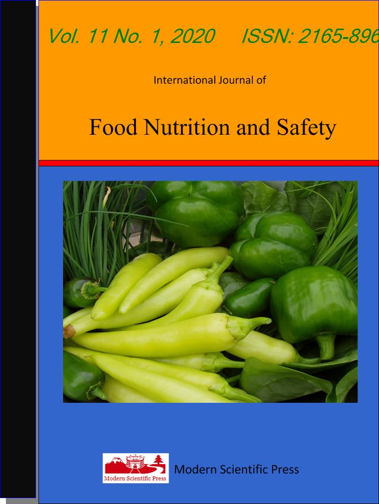 International Journal Of Food Nutrition And Safety