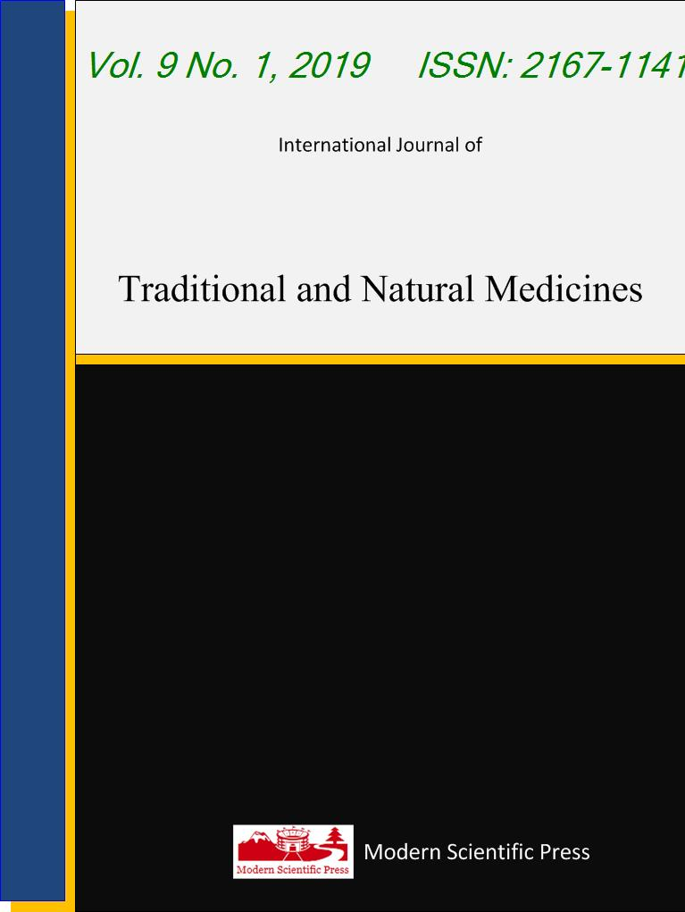 International Journal of Traditional and Natural Medicines